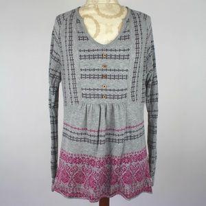 NORTH FACE (XL) Fair Isle Wool Blend Sweater